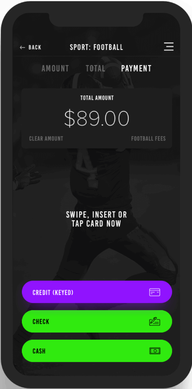 Sports Team Management - Mobile Payments